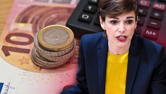 Die türkis-blaue Bundesregierung hat eine Steuerreform angekündigt, doch diese lässt auf sich warten. SPÖ-Chefin Pamela Rendi-Wagner fordert daher ein rasches Handeln und Vorziehen von Investitionen. (Bild: APA/ROLAND SCHLAGER, stock.adobe.com, krone.at-Grafik)