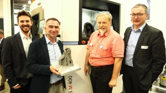 Die FH forscht an additiven Fertigungsverfahren. Bei der GPS GmbH Villach steht eine der neuen Maschinen im Einsatz. (Bild: Leitner Tom/Kronenzeitung)