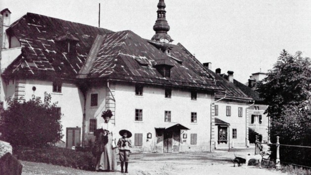 """Das alte """"ständische Theater"""" bestand bis um das Jahr 1900. (Bild: TAÖ/AAvK)"""