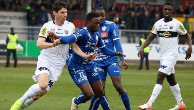 Zakaria Sanogo (Bildmitte) (Bild: GEPA)