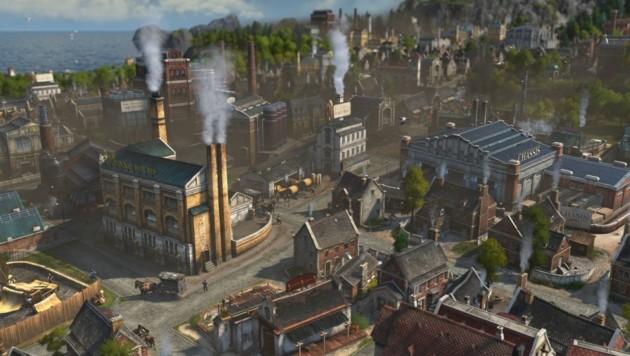 """Das Aufbaustrategiespiel """"Anno 1800"""" wurde vom Ubisoft-Studio Blue Byte in Mainz entwickelt. (Bild: Ubisoft)"""
