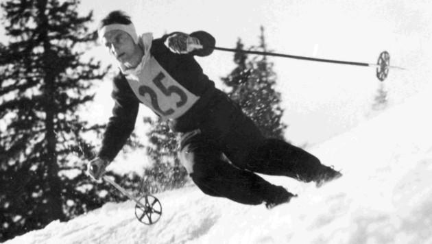 Karl Koller einst beim Rennen (Bild: Archiv Koller)