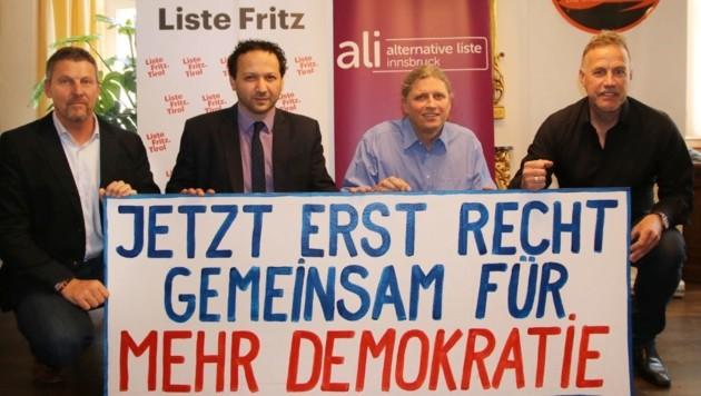 Jetzt erst recht - gemeinsam für mehr Demokratie (Bild: ALI)
