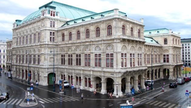 Die Wiener Staatsoper (Bild: Wikipedia/Carlos Delgado)