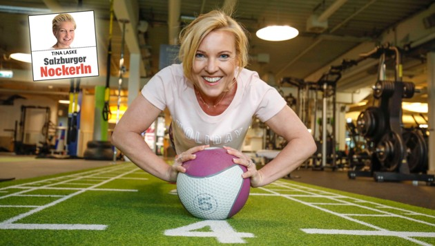 Fitness-Expertin Conny Hörl empfiehlt Sport zum Abnehmen (Bild: Markus Tschepp)