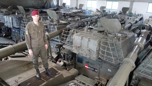 Für die Panzer ging es zum Alteisen – neue Gefechtsfahrzeuge als Ersatz kamen nie in Kärnten an. (Bild: Thomas Leitner)