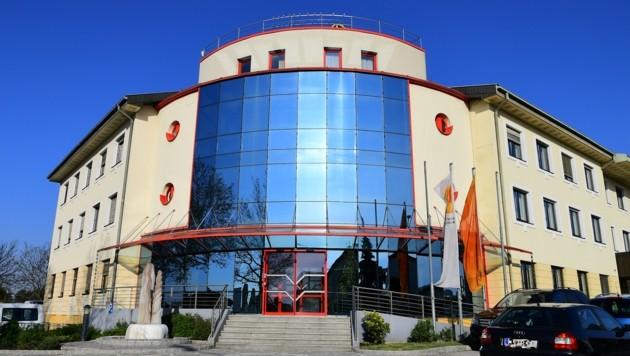 Die Zentrale der Energie Burgenland (Bild: P. Huber)