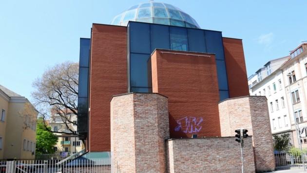 Die Grazer Synagoge wurde Opfer einer Sachbeschädigung (Bild: Christian Jauschowetz)
