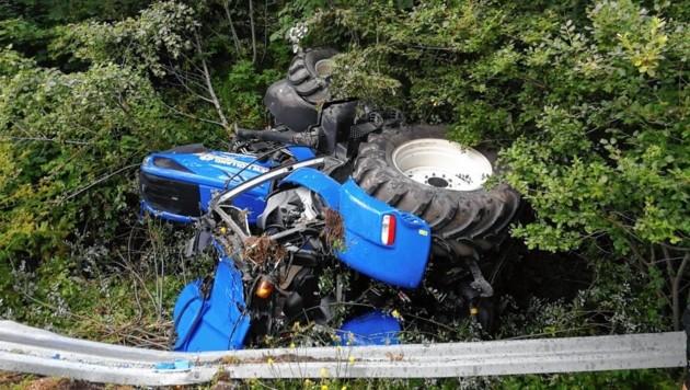 Der Unfall ereignete sich auf einer steilen Wiese (Symbolbild). (Bild: FF Schwarzach)