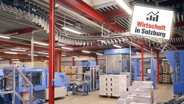 In Oberndorf werden Kataloge, Broschüren und Zeitschriften gedruckt (Bild: Circle Media Group)