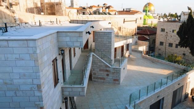 """Das Österreichische Pilger-Hospiz in Jerusalem erhielt einen modernen Anbau: das Gästehaus """"Casa Austria"""". (Bild: Österreichisches Hospiz Jerusalem)"""