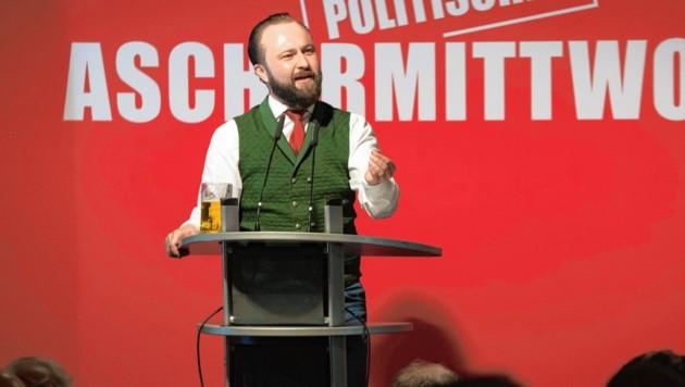 Der parteiintern beliebte Max Lercher soll Nationalratsabgeordneter werden. (Bild: SPÖ/Patrick Neves)