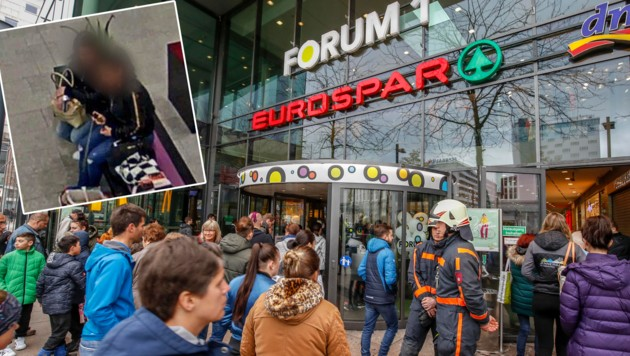 Beim Forum 1 (Bild: Markus Tschepp)