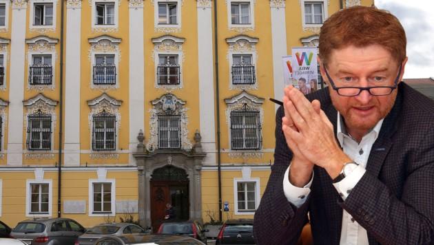 Der Welser Vizebürgermeister Gerhard Kroiß hat rasch Konsequenzen gezogen und den beschuldigten Ordnungswache-Mitarbeiter entlassen. (Bild: Gerhard Wenzel (2))