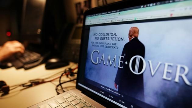 Das Spiel ist offenbar noch lange nicht vorbei, wie es US-Präsident Donald Trump gerne hätte. (Bild: APA/AFP/MANDEL NGAN)