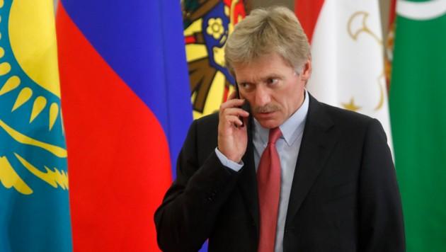 Kreml-Sprecher Dmitri Peskow (Bild: APA/AFP/POOL/MAXIM SHEMETOV)