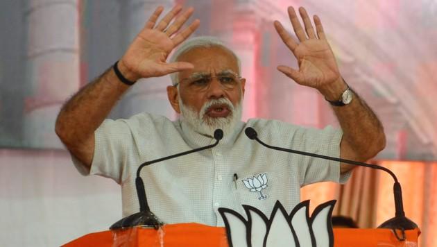 Indiens Premierminister Narendra Modi (Bild: AFP)