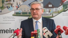 Gemeindebundpräsident Alfred Riedl (ÖVP) (Bild: Gemeindebund/Jürg Christandl)