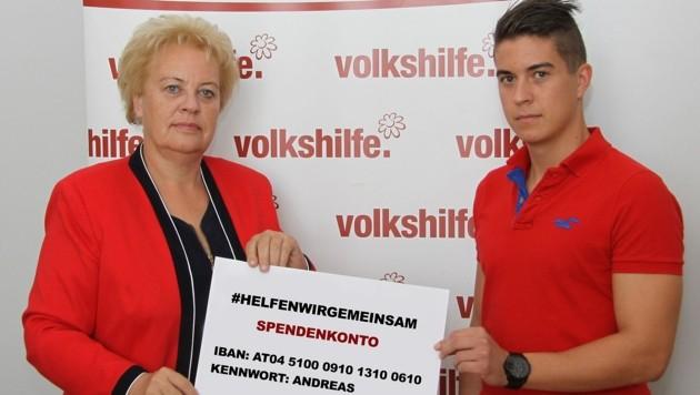 Volkshilfe-Präsidentin Verena Dunst will der Familie helfen (Bild: Volkshilfe Burgenland)