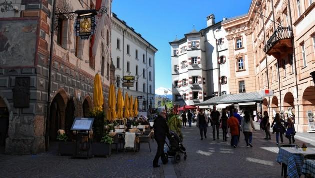 Die Innsbrucker Altstadt (Bild: Andreas Fischer)