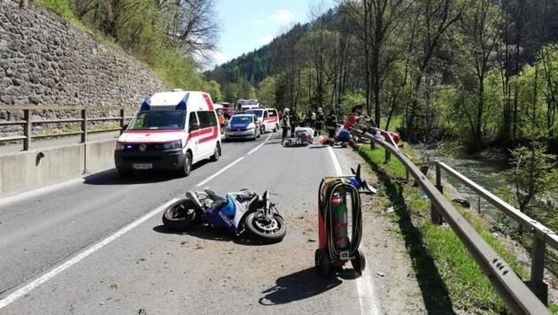 (Bild: Freiwillige Feuerwehr der Stadt Kapfenberg)