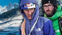 In den Rocky Mountains tödlich verunglückt: David Lama (28) und Hansjörg Auer (35) (Bild: AFP, facebook.com, krone.at-Grafik)