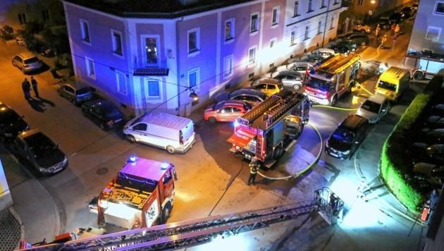 Die Polizei konnte den Brandstifter ausfindig machen. (Bild: Markus Tschepp)