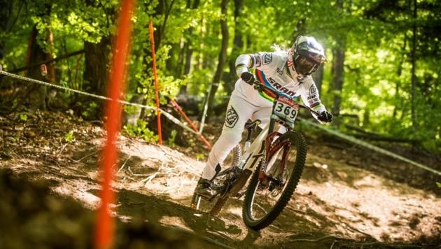 Valentina Höll zählt bei der Mountainbike Weltmeisterschaft in Leogang zu den österreichischen Hoffnugen. (Bild: Rick Schubert)