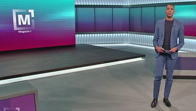 """Stefan Lenglinger moderiert abwechselnd mit Lisa Gadenstätter """"Magazin 1"""" (Bild: tvthek.orf.at)"""