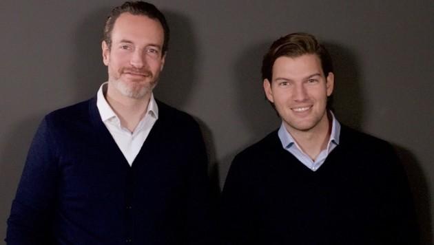 Die beiden N26-Gründer Maximilian Tayenthal (li.) und Valentin Stalf (re.) (Bild: N26)