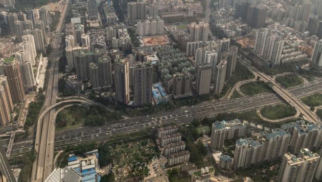 Blick auf Shenzhen (Bild: Sebastian Räuchle)