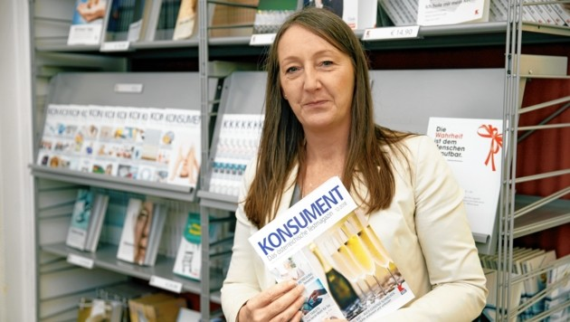Maria Ecker leitet beim VKI den Bereich Beratung. (Bild: Reinhard Holl)