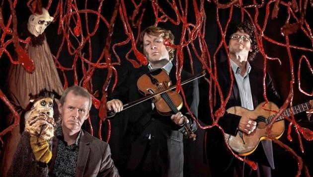 """Christoph Bodansky und Die Strottern zeigen """"Im Blut"""" im Dachbodentheater Stainz (Bild: Peter Mayr)"""