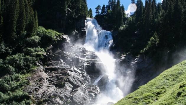 Die Krimmler Wasserfälle sind ein sehr beliebtes Fotomotiv auf Instagram. (Bild: Pixabay)