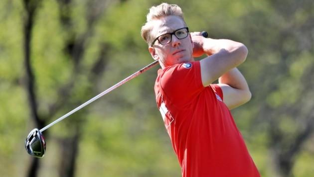 Lukas Lipold vom GCC Salzburg-Kleßheim zeigte bei den Haugschlag Open auf. (Bild: Österreichischer Golfverband)