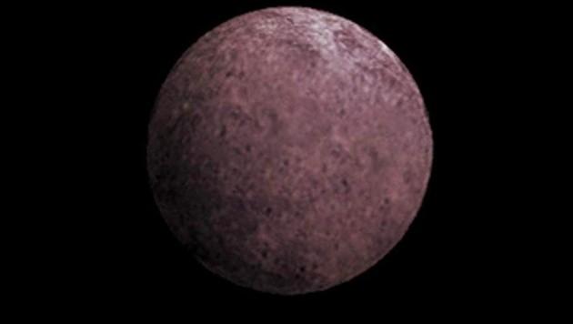 Künstlerische Darstellung des Zwergplaneten 2007 OR10 (Bild: NASA (gemeinfrei))