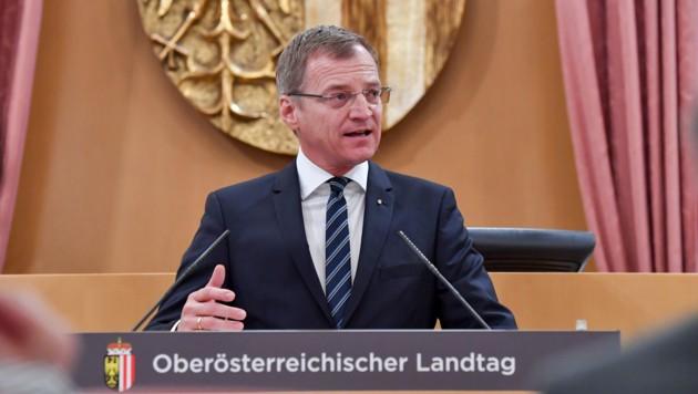 LH Thomas Stelzer (ÖVP) (Bild: © Harald Dostal)