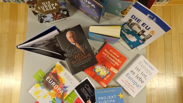 Anlass der Informationskampagne sind die EU-Wahlen am 26. Mai. (Bild: Aistleitner Monika, Bibliothekarsverband Salzburg)