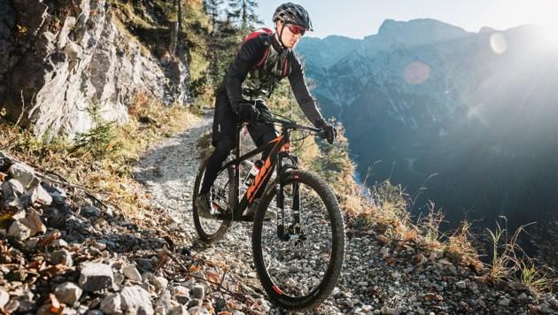 Der Fahrrad-Boom hilft auch dem Sportbekleidungshersteller aus dem Innviertel. (Bild: Löffler/Stefan Leitner)