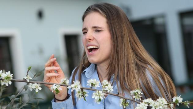 Manche Blüten reizen Allergiker so, dass sie niesen müssen. (Bild: Peter Tomschi)