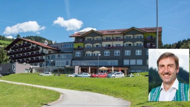 Bürgermeister Feßl (re.) macht sich nicht nur Sorgen um den ehemaligen Windischgarstnerhof (Foto), sondern auch um das Hotel Bischofsberg. (Bild: Jack Haijes, Mario Heim)