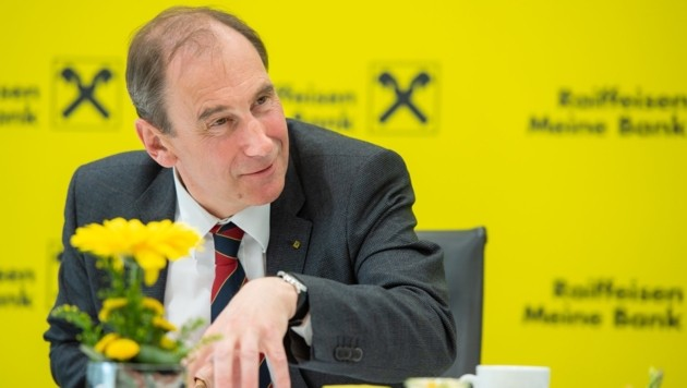 Martin Schaller, Generaldirektor der Raiffeisen-Landesbank Steiermark (Bild: photoworkers.at)