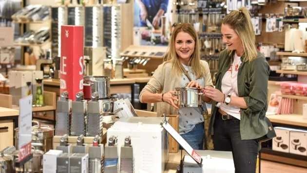 Die Region Linz-Wels profitiert von viel Industrie und jeder Menge Shopping-Möglichkeiten (Bild: Wenzel Markus)