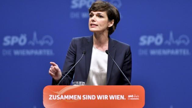 SPÖ-Chefin Rendi-Wagner (Bild: APA/HERBERT NEUBAUER)