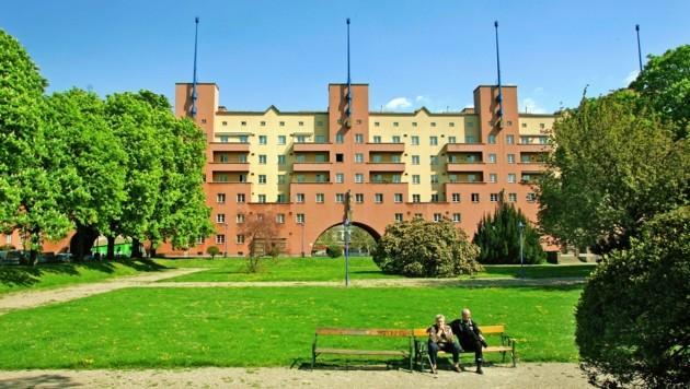 Der Karl-Marx-Hof (Bild: Reinhard Holl)