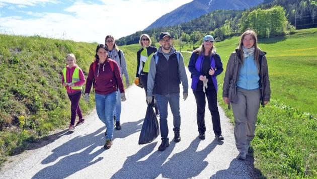 """Ab kommenden Montag wird in Villach """"geflurreinigt"""", so wie hier im Lavanttal. Jeder kann mitmachen! (Bild: Hermann Sobe)"""