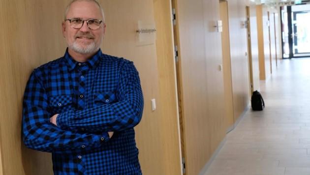 Wolfgang Gruber, Geschäftsführer des Primärversorgungsnetzwerks in Sierning. (Bild: Horst Einöder)