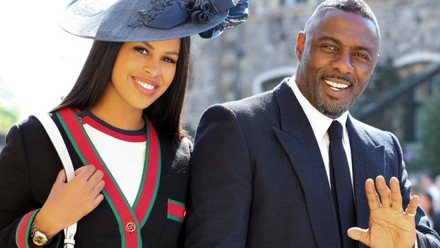 Idris Elba und Sabrina Dhowre (Bild: AFP)