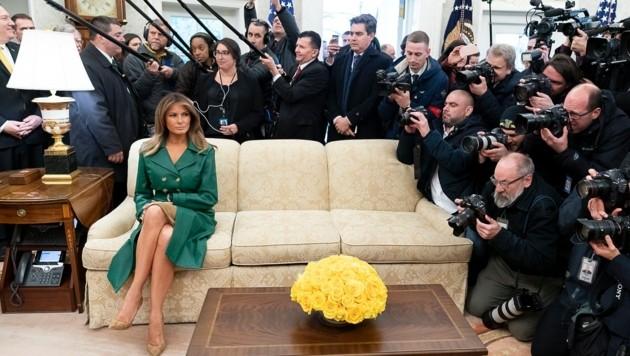 Mit diesem Bild gratulierte das Weiße Haus der First Lady zum Geburtstag. (Bild: twitter.com/White House)