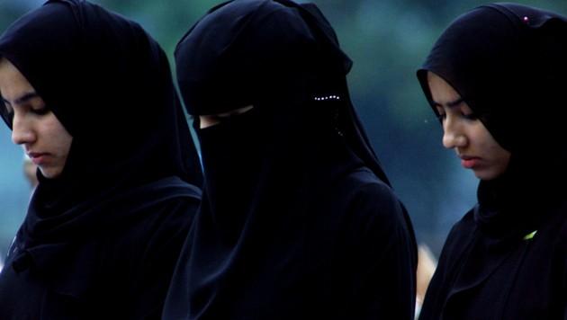 Muslimische Mädchen in Sri Lanka (Bild: AFP)